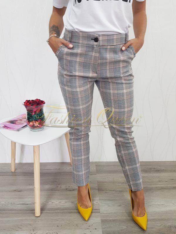 339752cf9 Fashion Queen - Dámske oblečenie a móda - Kárované nohavice