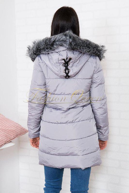 d8a2ff7cbcc7 Fashion Queen - Dámske oblečenie a móda - Vetrovka s kožušinou