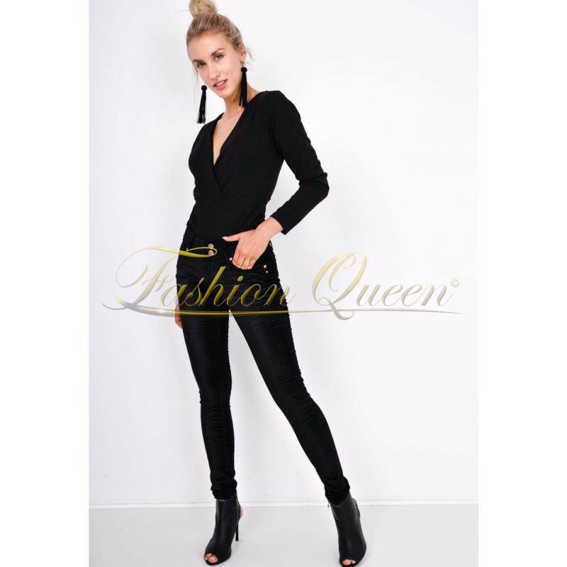 d15f63978fe7 Fashion Queen - Dámske oblečenie a móda - Čierne nohavice