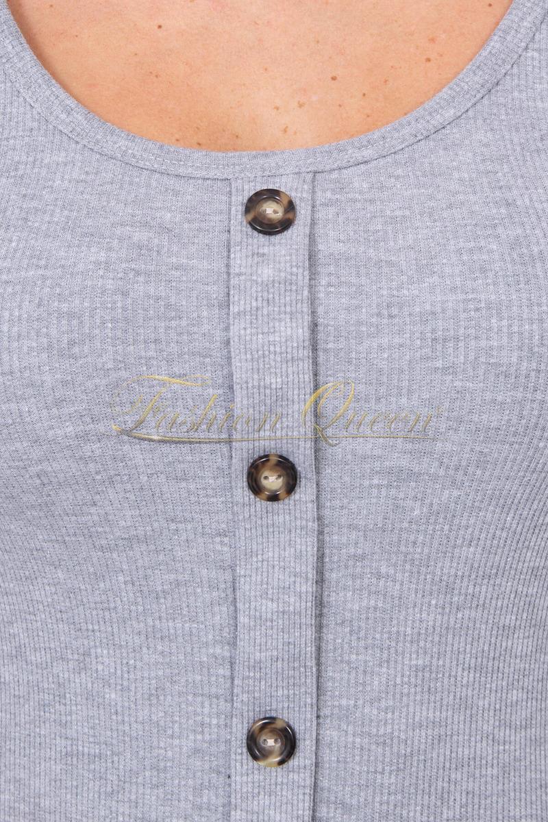 Fashion Queen - Dámske oblečenie a móda - Šaty s gombíkmi 886920599df