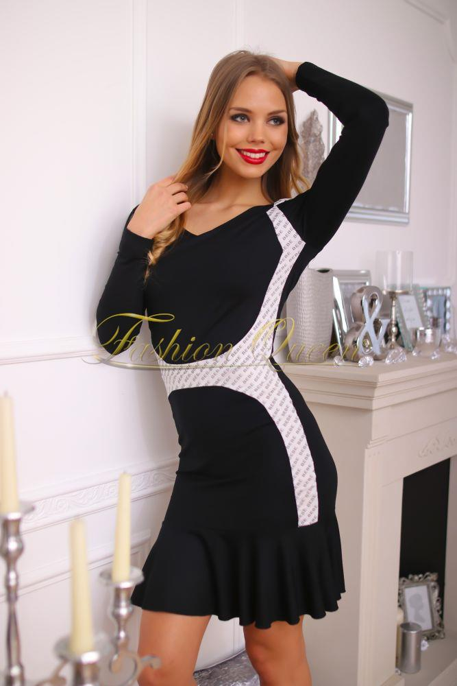 Fashion Queen - Dámske oblečenie a móda - Šaty s volánom c2021f968de