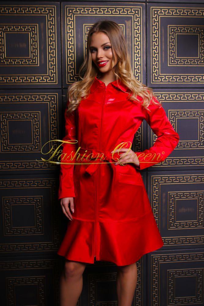 1b8e0ac62d Fashion Queen - Dámske oblečenie a móda - Kabát s volánom