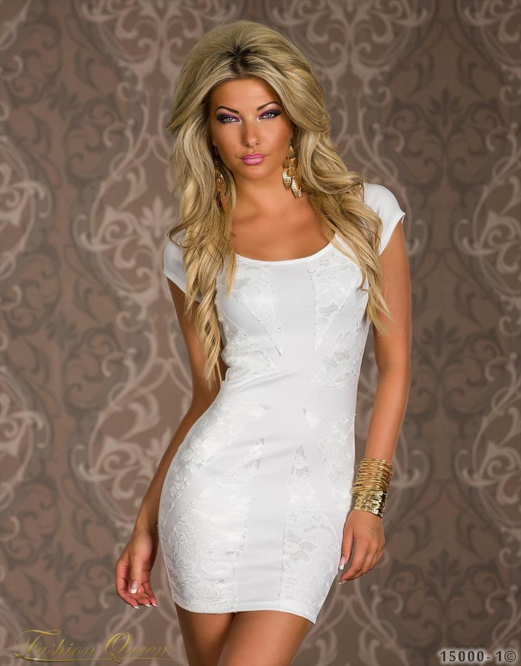 610e227b7b3d Fashion Queen - Dámske oblečenie a móda - Minišaty s krátkym rukávom