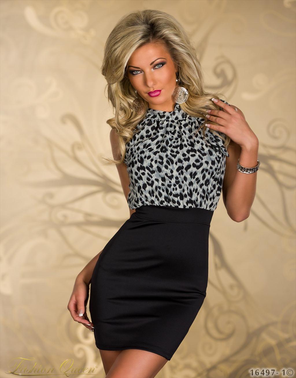00c7ac605 Fashion Queen - Dámske oblečenie a móda - Leopardie šaty