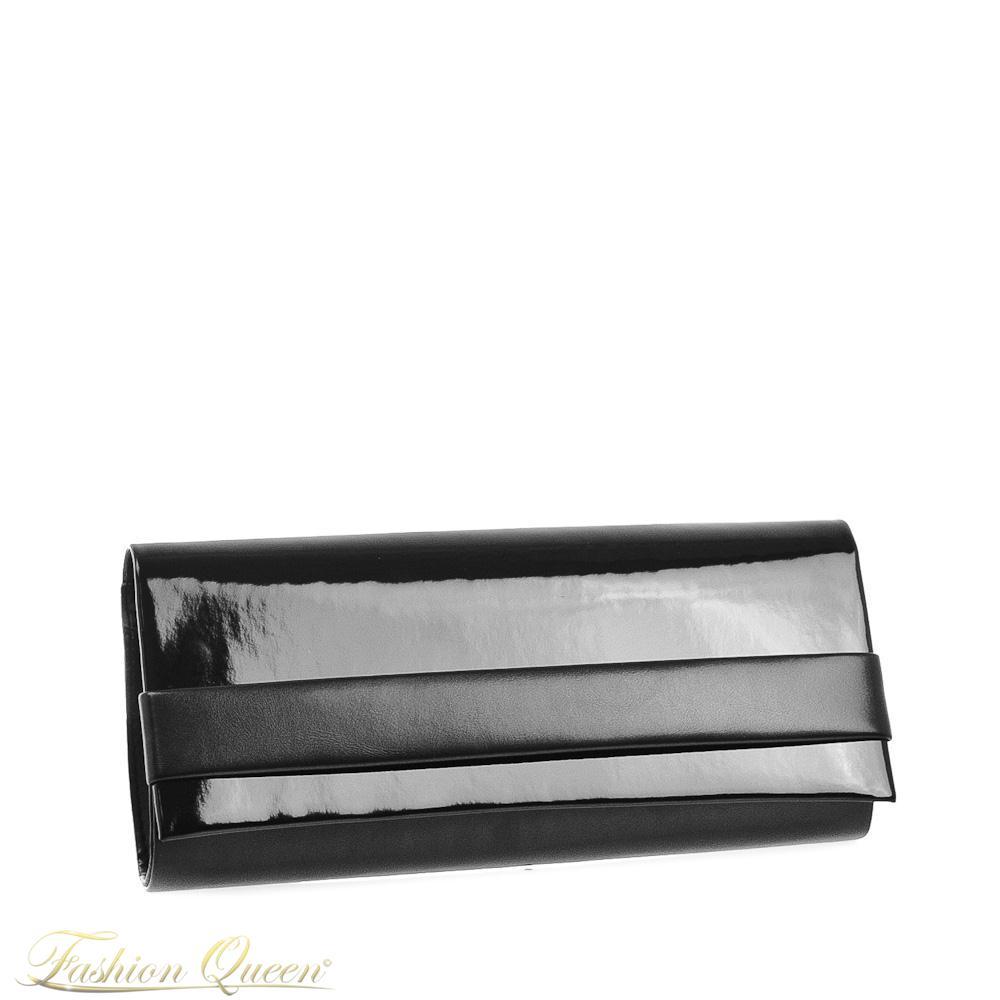 3d5118fa163 Fashion Queen - Dámske oblečenie a móda - Čierna listová kabelka