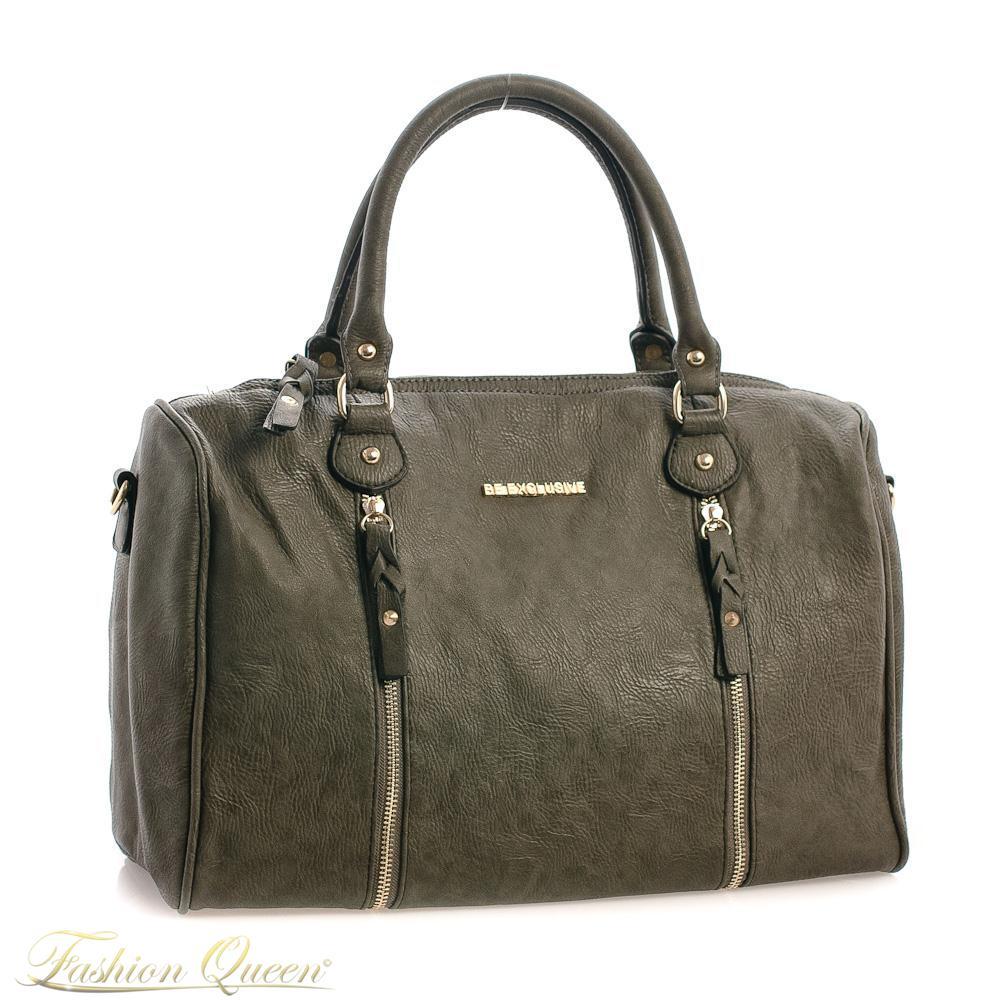 8f020ebfb Fashion Queen - Dámske oblečenie a móda - Sivá kabelka